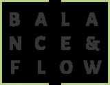 Logo balance&flow; Fromm & Froehlich・Hummitzsch & Poser GbR・www. frommundfroehlich.de