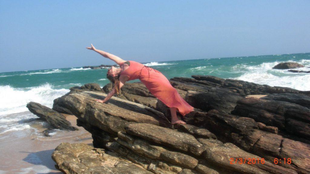 Yoga und Urlaub; Foto: Katrin Christel