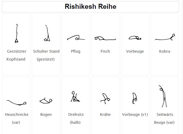 Rishikesh-Reihe